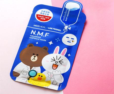 Korean mask mascarilla line friends