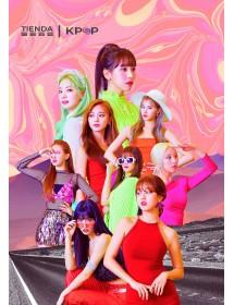 Poster de TWICE -  Tamaño A3