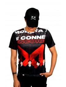 Camiseta MONSTA X negra