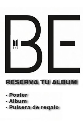 Banner BTS - Be ALBUM